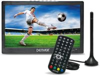 "Vorschau: Portabler LED-TV DENVER LED-1031, 10"", DVB-T2, Akku, stereo, B-Ware"