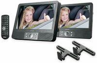"Vorschau: Portabler DVD-Player LENCO MES-405, Doppel-TFT-Bildschirm 9"" (22,5 cm)"