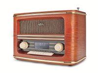 Vorschau: DAB+/UKW Nostalgie-Radio DUAL NR 1 DAB