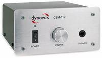 Vorschau: Kopfhörerverstärker DYNAVOX CSM-112, silber