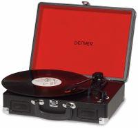 Vorschau: Plattenspieler DENVER VPL-120, Aktenkoffer, USB