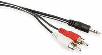 Vorschau: Audio-Adapterkabel Klinke auf Cinch, 0,9 m
