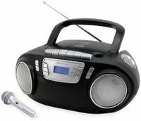 Vorschau: CD-Player SOUNDMASTER SCD5800SW mit Mikrofon, schwarz