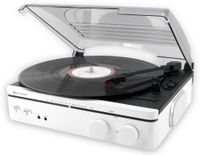 Vorschau: Plattenspieler SOUNDMASTER PL560WE, weiß