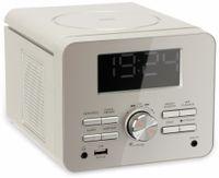 Vorschau: Uhrenradio CDR 274 mit CD-Player, silber, B-Ware