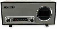 Vorschau: UKW Uhrenradio, VICTROLA VC-100, Bluetooth, schwarz/silber