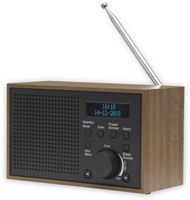 Vorschau: DAB Radio DENVER DAB-46, dunkelgrau