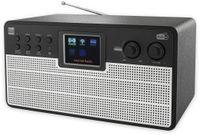 Vorschau: DAB+/Internetradio DUAL IR 100, schwarz/silber, DAB+, Wlan, Bluetooth