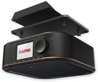 Vorschau: Küchenunterbauradio HAMA DR350, schwarz, DAB+