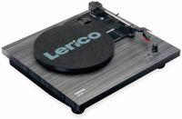 Vorschau: Plattenspieler LENCO LS-10, schwarz, mit integrierten Lautsprechern