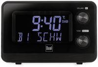 Vorschau: DAB+/UKW Radiowecker DUAL DAB CR 10, mit USB Charging, schwarz