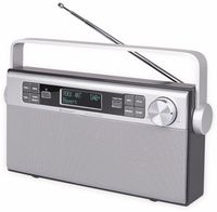 Vorschau: DAB+/UKW Radio SOUNDMASTER DAB650SI, silber