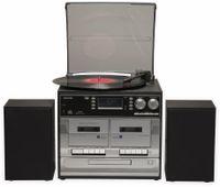 Vorschau: Stereoanlage DENVER MRD-166, DAB+/FM, CD-Player, Turntable, Dual Cassettendeck