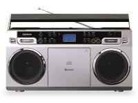 Vorschau: FM-Radio LENCO SCD-580SI, USB, CD/MP3-Player, Bluetooth, silber
