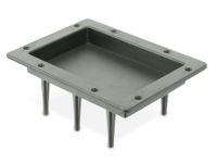 Vorschau: Boxenterminal mit Platinenhalter, 180x130 mm