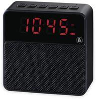 Vorschau: Bluetooth Lautsprecher HAMA Pocket Clock, schwarz