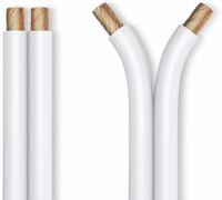 Vorschau: Lautsprecherkabel PURELINK, 2x1,5 mm², 50 m, weiß, OFC