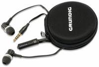 Vorschau: In-Ear Headset mit Flachkabel GRUNDIG 86351, schwarz