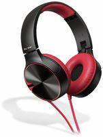 Vorschau: On-Ear Kopfhörer Pioneer SE-MJ722T, rot, Mikrofon