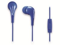 Vorschau: In-Ear-Ohrhörer Pioneer SE-CL502T-L, blau, Mikrofon