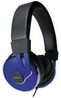 Vorschau: Over-Ear Kopfhörer LOGILINK HS0040, schwarz/blau