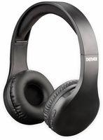 Vorschau: Bluteooth Over-Ear Kopfhörer DENVER BTH-240, schwarz