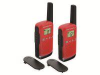 Vorschau: PMR-Funkgeräte-Set MOTOROLA Talkabout T42, rot