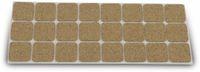 Vorschau: Möbelgleiter EUROTOOLS 344-NBFR, Kork, 28x28 mm, 24 Stück