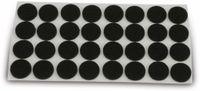 Vorschau: Filzgleiter EUROTOOLS 347-NBFR, Ø 20 mm, 32 Stück