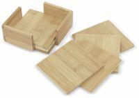 Vorschau: Untersetzer-Set, Bambus, 7-teilig