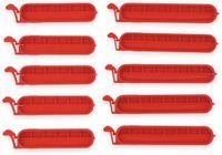 Vorschau: Beutel-Verschlussklammern ALPINA. 10 Stück, rot