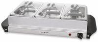 Vorschau: Buffetwärmer EMERIO BS-110790, 3x 1,5 L Kapazität, Warmhalteplatte