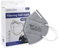 Vorschau: 10er Set Atemschutzmasken FFP2 NR, grau
