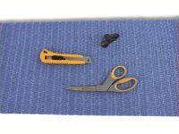 Vorschau: Antirutschmatte, 30x150 cm, blau