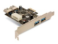 Vorschau: USB 3.0 PCIe-Karte, 4-Port