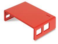 Vorschau: Raspberry Pi Gehäuse, Oberteil, rot