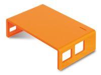 Vorschau: Raspberry Pi Gehäuse, Oberteil, orange