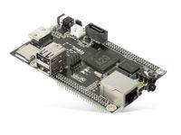 Vorschau: Cubieboard 2 DualCard, A20, 1 GB, 2x microSD, SATA, HDMI