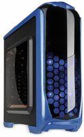 Vorschau: PC-Gehäuse KOLINK Aviator, Midi-Tower, schwarz/blau