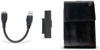 """Vorschau: Festplattengehäuse LOGILINK UA0235, 2,5"""", USB 3.0, Lederdesign"""