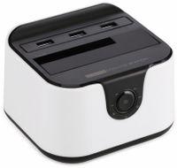 """Vorschau: Festplatten-Dockingstation DSS-03W, 2,5/3,5"""", 3x USB 3.0, weiß"""