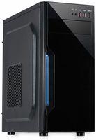 Vorschau: PC-Gehäuse INTER-TECH B-42, schwarz-blau