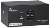 Vorschau: KVM-Switch INTER-TECH AS-22HA, HDMI, Metall, 2x2 Ports