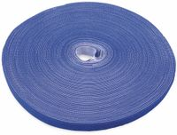 Vorschau: Klett-Rolle LABEL THE CABLE Roll Strap, 25 m, 16 mm, blau
