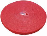 Vorschau: Klett-Rolle LABEL THE CABLE Roll Strap, 25 m, 16 mm, rot