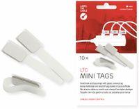 Vorschau: Klett-Kabelbinder LTC MINI TAGS, 10 Stück, weiß