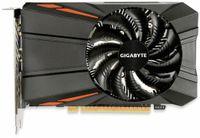 Vorschau: Grafikkarte GIGABYTE GeForce 1050Ti, 4 GB, HDMI, DVI, DP