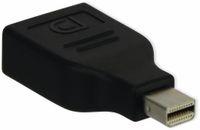 Vorschau: DisplayPort-Adapter, DisplayPort/Mini-DP, schwarz