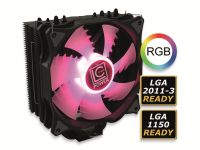 Vorschau: CPU-Kühler LC-POWER LC-CC-120-RGB, 120 mm, 180 W TDP, RGB