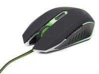 Vorschau: Gaming-Maus GEMBIRD, 2400dpi, grün